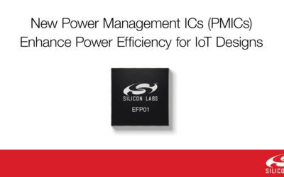 Feature-Rich Power Management ICs Enhance Battery-Powered IoT Product Design